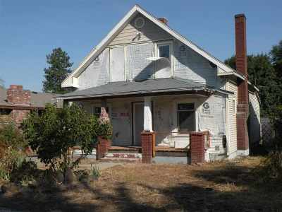 Spokane Single Family Home Ctg-Inspection: 407 E Wabash Ave