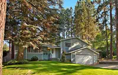 Spokane Single Family Home Bom: 9721 E Archery Ave