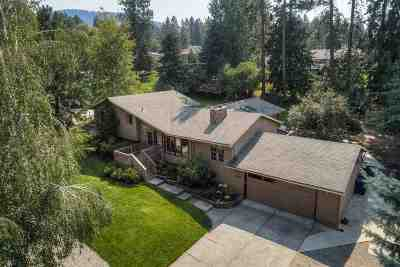 Coeur D Alene Single Family Home For Sale: 2340 E Hayden View Dr