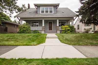 spokane Single Family Home For Sale: 407 W Kiernan Ave