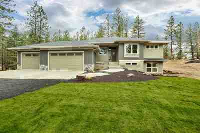 Spokane County Single Family Home For Sale: 17615 N Hilltop Rd