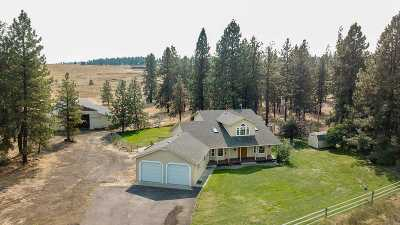 spokane Single Family Home New: 8225 W Trails Rd