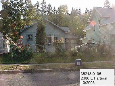 Spokane Single Family Home Ctg-Short Sale: 2006 E Hartson Ave