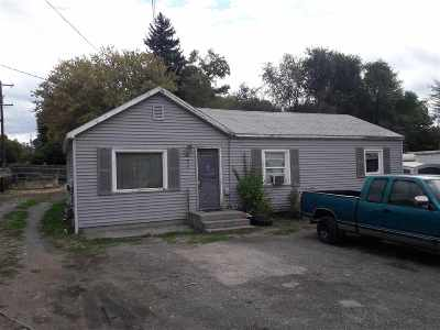 Spokane Single Family Home Ctg-Short Sale: 920 N Vista Rd