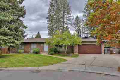 Spokane Single Family Home For Sale: 11704 N Highwood Ct