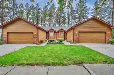 Spokane Single Family Home For Sale: 5412 W Old Fort Dr #5414 W O