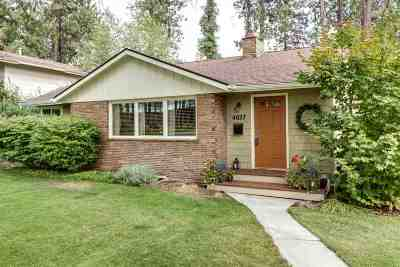 spokane Single Family Home New: 4027 S Crestline St