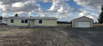 Colbert Mobile Home For Sale: 4005 E Beauty Ln