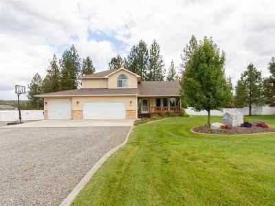 Nine Mile Falls WA Single Family Home Ctg-Sale Buyers Hm: $375,000