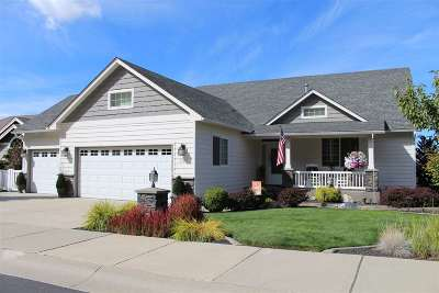 Spokane County Single Family Home New: 1103 N Lancashire Ln