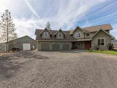 Nine Mile Falls WA Single Family Home Ctg-Sale Buyers Hm: $499,900