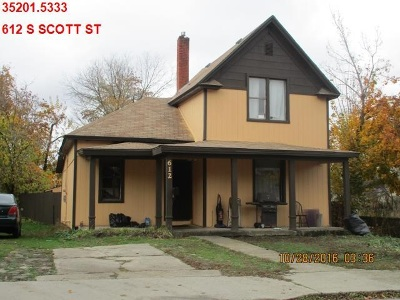 Single Family Home Ctg-Inspection: 612 S Scott St