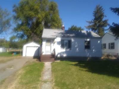 Spokane Valley Single Family Home Chg Price: 14123 E Longfellow Ave