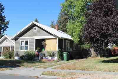 Spokane Multi Family Home New: 2018 W Nora Ave