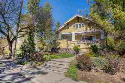 Spokane Single Family Home For Sale: 1211 S Wall St