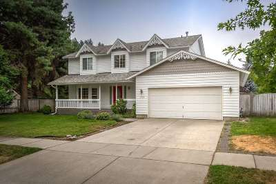 Coeur D Alene Single Family Home For Sale: 3725 N Purcell Pl