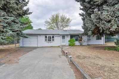 Spokane Valley Single Family Home For Sale: 3707 N Edgerton Rd