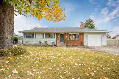 Spokane Valley Single Family Home For Sale: 11821 E Frederick Ave