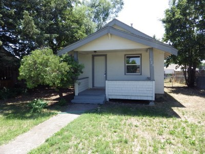 Spokane Single Family Home Ctg-Inspection: 928 E Montgomery Ave