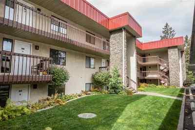 Spokane County Condo/Townhouse For Sale: 166 S Coeur D'alene St #D-304