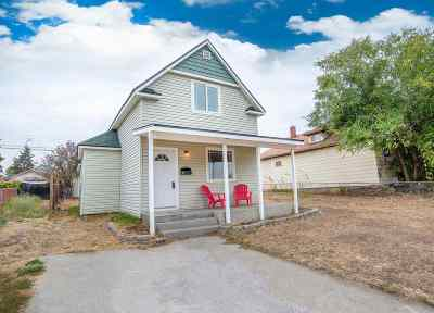 Spokane Single Family Home For Sale: 210 W Montgomery Ave