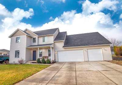 Spokane Valley Single Family Home Chg Price: 1108 S Progress Rd