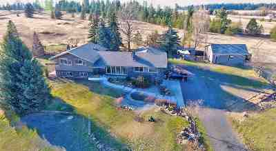 Spokane Single Family Home For Sale: 1727 N Old Trails Rd