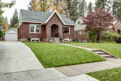 Spokane Single Family Home New: 1221 W 20th Ave