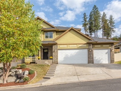 Spokane Valley Single Family Home New: 16321 E Whirlaway Ln