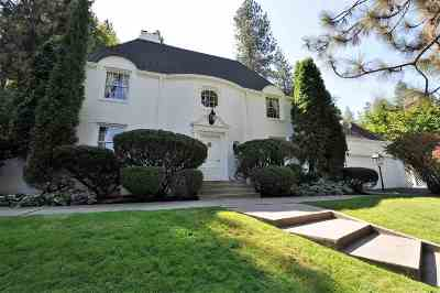 Spokane WA Single Family Home Chg Price: $1,500,000
