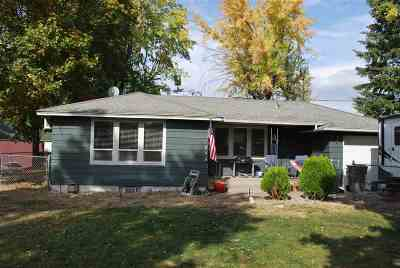 Spokane Valley Single Family Home For Sale: 13609 E 12th Ave