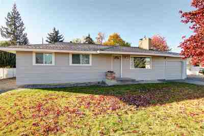 Spokane Valley Single Family Home New: 12924 E Mission Ave