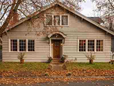 Spokane Single Family Home For Sale: 2812 N Washington St