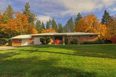 spokane Single Family Home For Sale: 1102 N Evergreen St