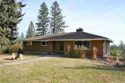 Spokane Single Family Home Chg Price: 15115 N Hazard Rd