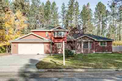 Nine Mile Falls WA Single Family Home Ctg-Inspection: $300,000