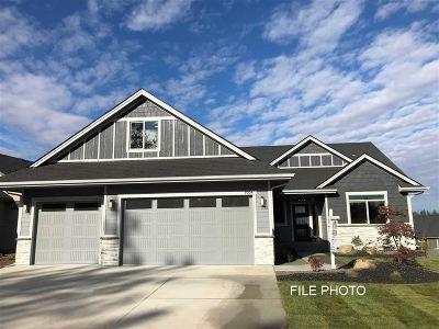 Spokane, Spokane Valley Single Family Home For Sale: 5716 W Regina Ln #Lot - 5