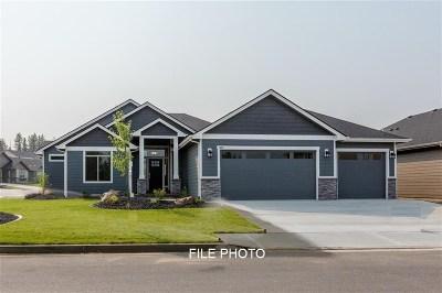Spokane, Spokane Valley Single Family Home For Sale: 5718 W Regina Ln #Lot - 4