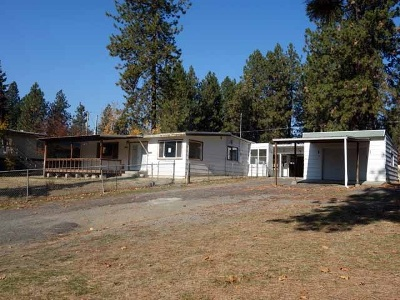 Spokane Single Family Home Bom: 9913 E 8th Ave