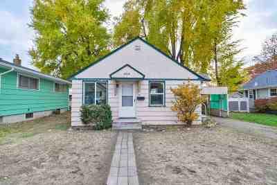 Spokane Single Family Home Bom: 2618 E Joseph Ave