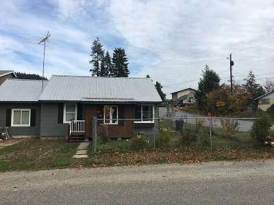 Metaline Single Family Home For Sale: 105 Selkirk