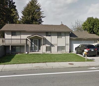 Spokane Valley Single Family Home Ctg-Short Sale: 2406 S Pines St
