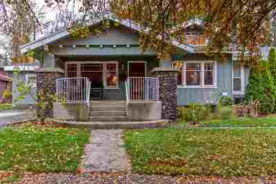Spokane Single Family Home Bom: 1015 W 24th Ave