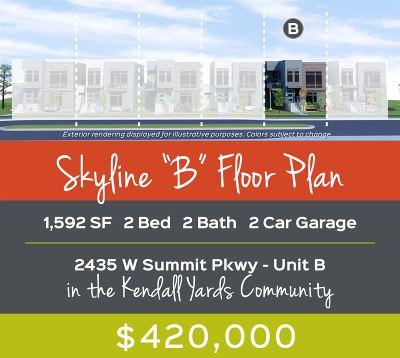Spokane Single Family Home For Sale: 2435 W Summit Pkwy