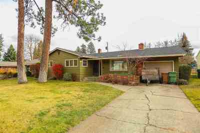 Spokane Single Family Home Ctg-Inspection: 215 W 30th Ave