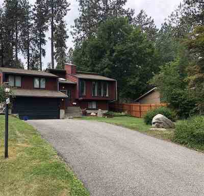 Spokane Single Family Home Ctg-Inspection: 4420 E Big Springs Rd