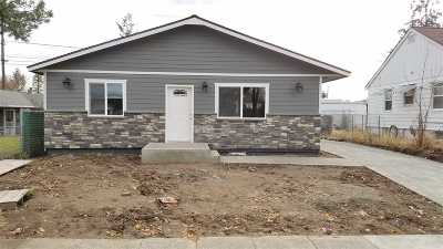 Spokane Single Family Home For Sale: 110 E Rich Ave