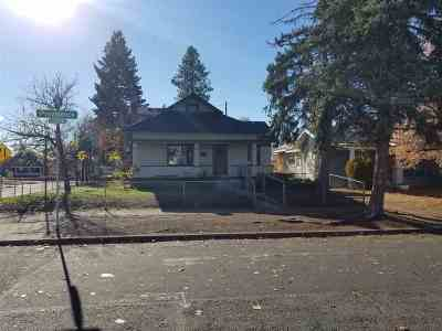 Spokane Single Family Home For Sale: 1001 W Providence Ave