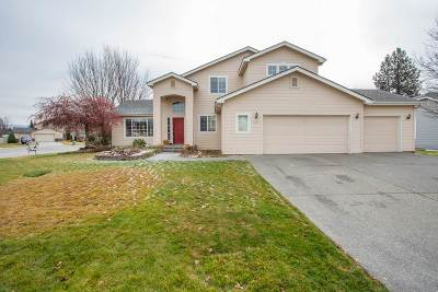 Spokane Valley Single Family Home For Sale: 3829 S Bates Dr