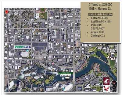 Spokane Residential Lots & Land For Sale: 1601 N Monroe St